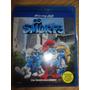 Blu-ray 3d Os Smurfs 3d + 2d - Original [dini32]