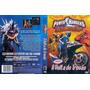 Dvd Power Rangers - Tempestade Ninja - A Volta Do Trovão