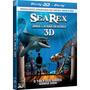 Blu-ray 3d 2d Sea Rex Jornada Um Mundo Pré-histórico C/ Luva