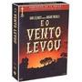 Dvd Box E O Vento Levou - 4 Dvds- Digipack - Novo