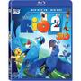 Blu-ray 3d + Bluray: Rio 2 - Duplo Novo Nacional Original