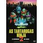 As Tartarugas Ninjas 2 - O Segredo De Ooze -dvd Dublado Novo
