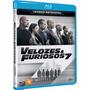 Blu Ray Velozes & Furiosos 7 - Versão Estendida - Novo