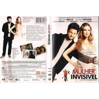 Dvd A Mulher Invisivel, Selton Mello, Luana Piovan, Original