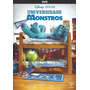 Dvd Universidade Monstros Disney Pixar Original