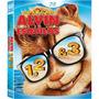 Box Blu-ray Trilogia Alvin E Os Esquilos 3 Discos - Lacrado!