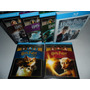 Blu-ray - Harry Potter - Anos 1-6 - Importado - 7 Discos