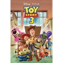 Toy Story 3 - Dvd Infantil - Original