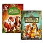 Coleção Dvd Disney O Cão E A Raposa 1 E 2 (original Lacrado)