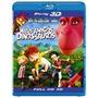 Blu-ray 3d Meus Amigos Dinossauros -2d Também No Mesmo Disco