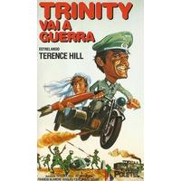 Dvd Trinity Vai À Guerra Dublagem Clássica Com Terence Hill