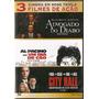 Advogado Do Diabo + Um Dia De Cão + City Hall- Dvd (lacrado)
