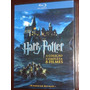 Blu-ray - Coleção Harry Potter - 1-7b (8 Discos) Lacrado !!