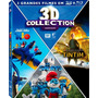 Blu Ray 3d Collection: Rio + Os Smurfs + As Aventuras Tintim
