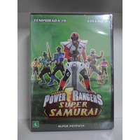 Dvd Power Rangers Super Samurai - 19ª Temp - Lacrado - Vol 2