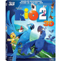 Blu-ray 3d + 2d + Dvd: Rio 2 - Triplo Ed De Colecionador