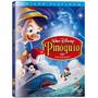 Dvd Pinoquio Ed. Platinum 70º Aniversário Duplo Disney Novo!