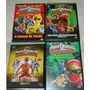 Dvds Power Rangers Diversos - 4 Discos