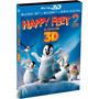 Blu-ray 3d E 2d + Cópia Digital Happy Feet 2 O Pinguim Luva