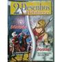 Dvd 2 Desenhos Bíblicos - Moisés E Josué