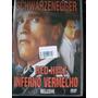 Dvd Inferno Vermelho Schwarzenegger
