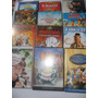 Lote 5 Dvds Filmes Infantis Disney - Looney Tunes- Wb E Mais