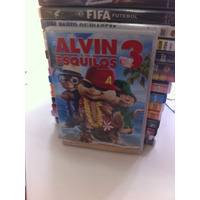 Dvd Original Do Filme Alvin E Os Esquilos 3 (lacrado)