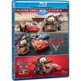 Box Blu-ray Trilogia Carros Com 4 Discos * Lacrado Original