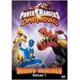 Dvd Power Rangers Dino Trovão - Triunfo Triássico Vol.5 (sem