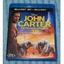 Blu-ray John Carter - Combo Bd 2d + 3d Novissimo!