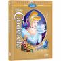 Cinderela Edição Diamante Blu Ray Luva Lacrado Dvd Duplo