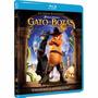 Blu Ray Gato De Botas - Dreamworks - Original, Novo, Lacrado