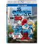 Blu-ray 3d E 2d Os Smurfs - O Filme (semi Novo)