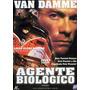 Dvd Filme Van Damme Agente Biológico Usado