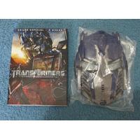 Dvd Duplo Transformers A Vingança Dos Derrotados Com Máscara