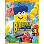 Blu-ray 3d Seminovo - Bob Esponja - Um Herói Fora D