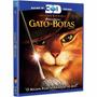 Blu-ray 3d Original Do Filme Gato De Botas (apenas 3d)