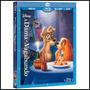 Blu-ray A Dama E O Vagabundo - Disney Original Lacrado