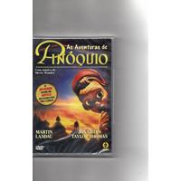 Dvd As Aventuras De Pinóquio - Lacrado