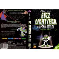 Dvd Lacrado Disney Buzz Lightyear Do Comando Estelar