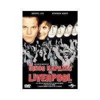 Dvd Os Cinco Rapazes De Liverpool Beatles Stephen Dorff Raro
