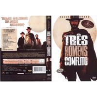 Dvd Lacrado Duplo Tres Homens Em Conflito Clint Eastwood Edi