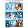 Dvd A Era Do Gelo: A Trilogia (3 Dvds) Original E Lacrado