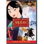 Dvd Mulan Clássico Original Disney Um Disco Novo Lacrado