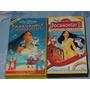 Vhs Pocahontas 1 E 2 - Walt Disney - Originais - Classico
