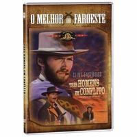 Dvd Três Homens Em Conflito- Clint Eastwood Original Lacrado