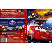 Dvd Carros, Disney Pixar, Animação / Infantil, Original