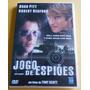 Dvd Jogo De Espiões - Com Brad Pitt E Robert Redford.