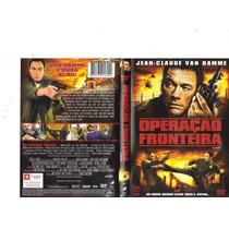 Dvd Operação Fronteira, Jean Claude Van Damme - Original