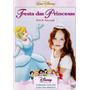Festa Das Princesas - Festa De Aniversário - Dvd Disney Novo